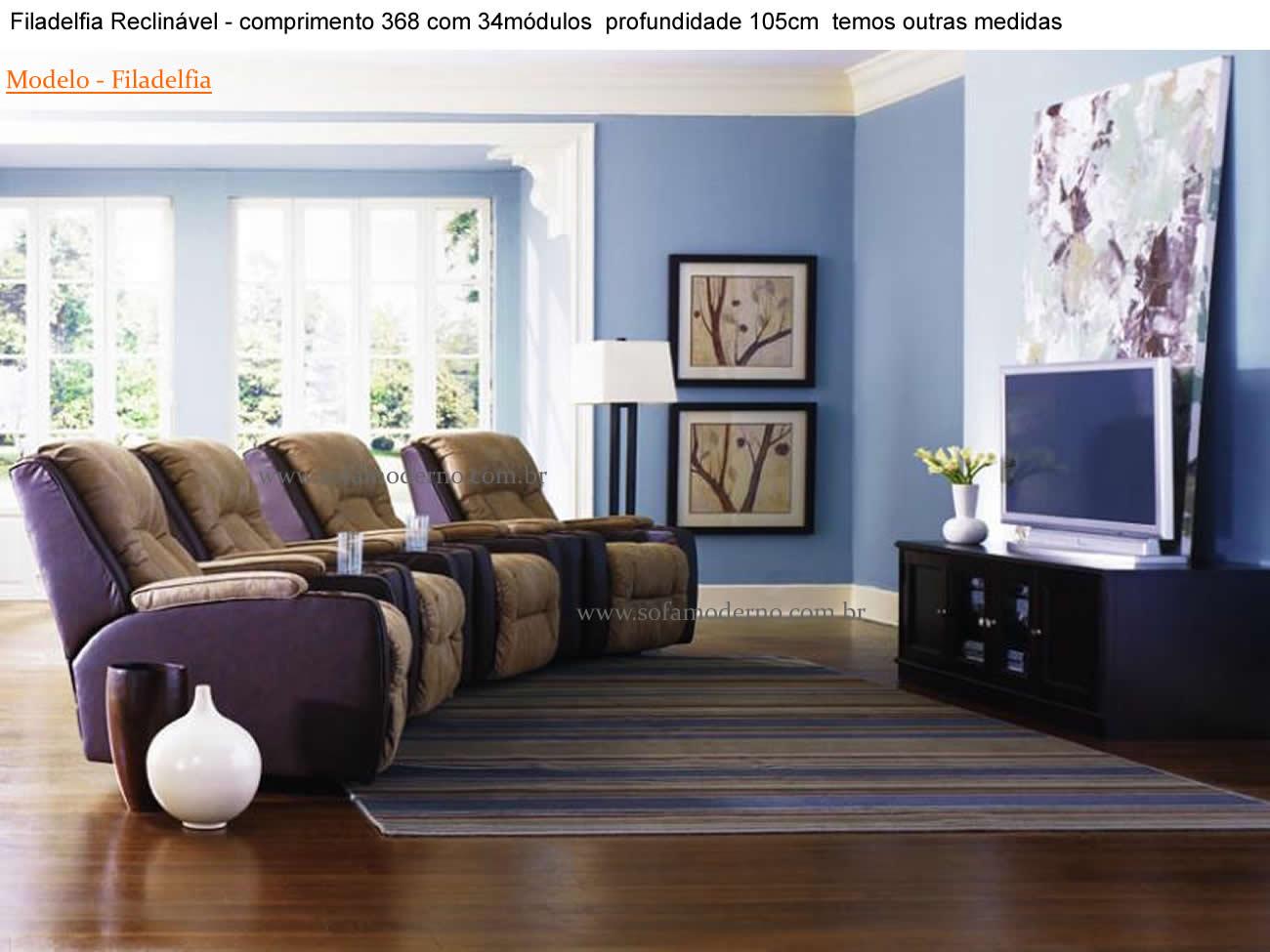 Sala de tv com sofa e poltrona id ias for Sofa para sala de tv