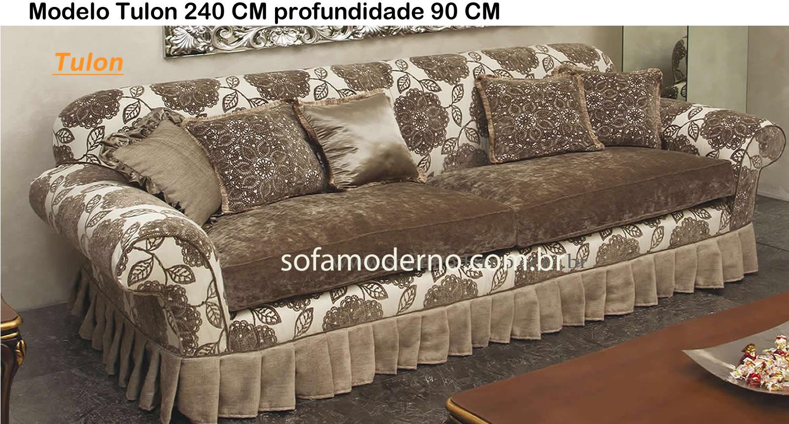 Sof antigo com design original maravilhoso - Sofas estilo colonial ...