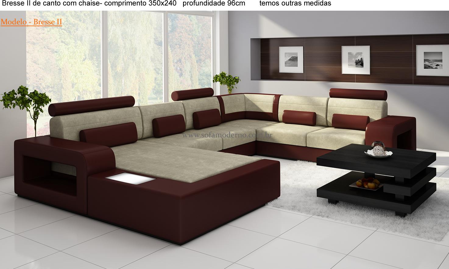 Sofá Modular - Perfeito para sala pequena e sala grande ...