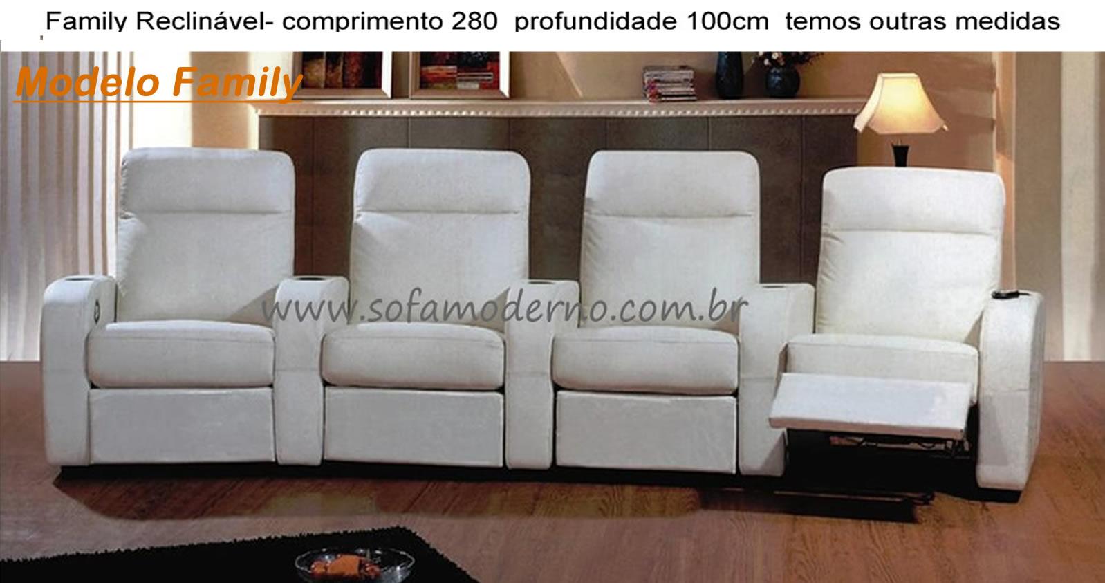 Sof 225 Para Home Estofado Confort 225 Vel Para Home Theater